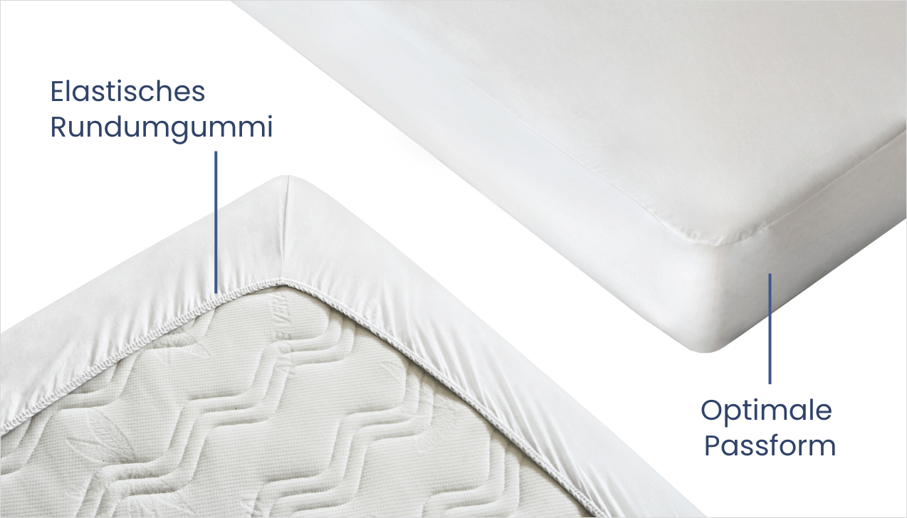 Schlaflux Schonbezug allCare – hygienischer Schutz vor Schmutz und Feuchtigkeit