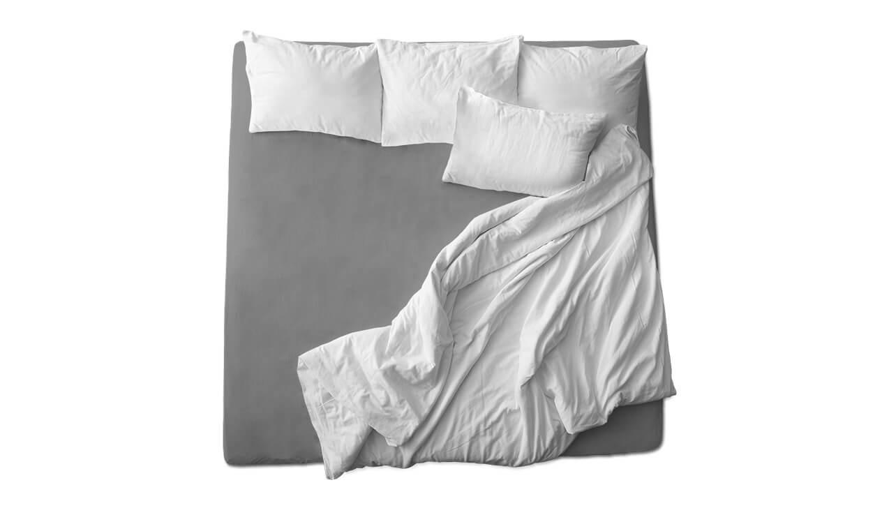 Schaflux Jersey Spannbettlaken allFit für Matratze in Grau