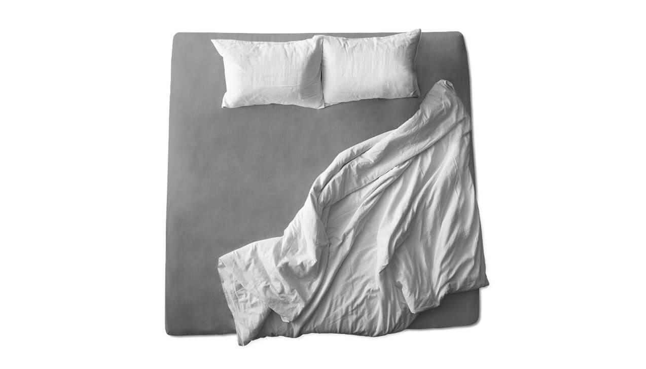 Schaflux Jersey Spannbettlaken allFit für Topper in Grau