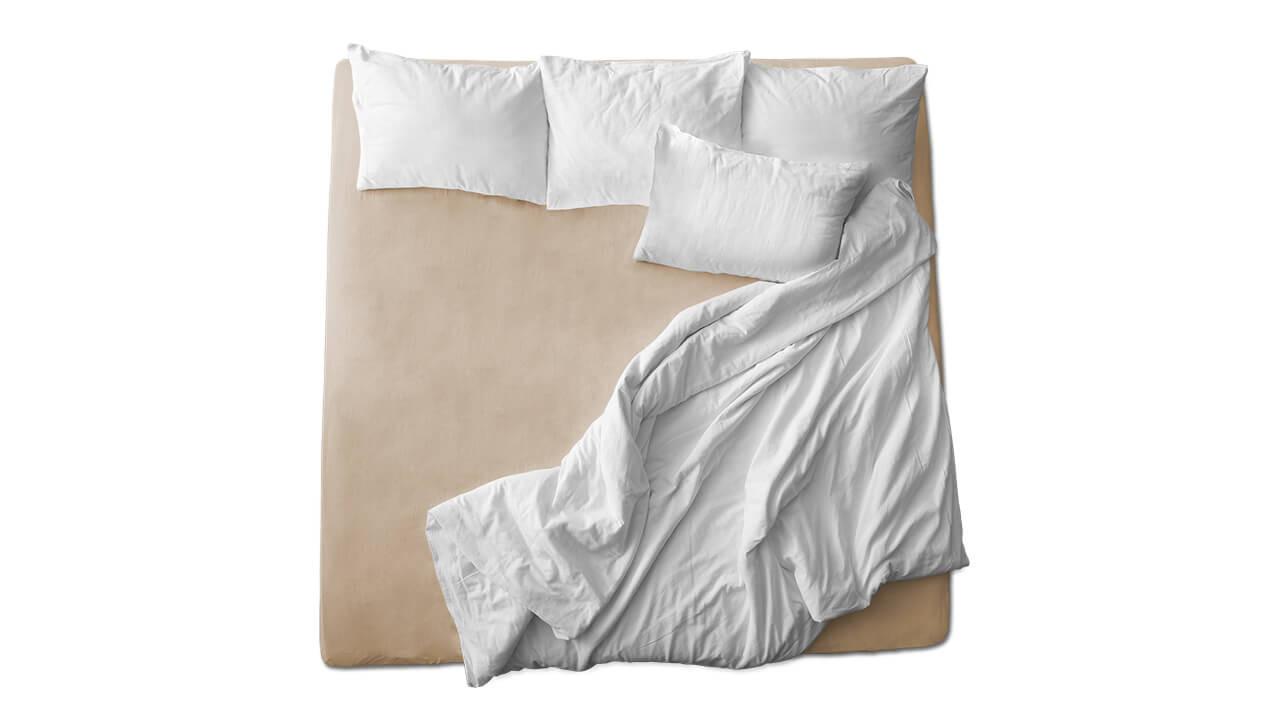 Schaflux Jersey Spannbettlaken allFit für Matratze in Kiesel