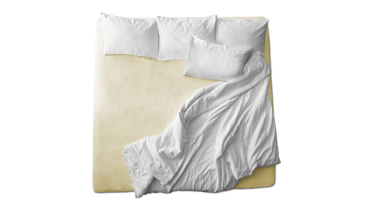Schaflux Jersey Spannbettlaken allFit für Matratze in Leinen