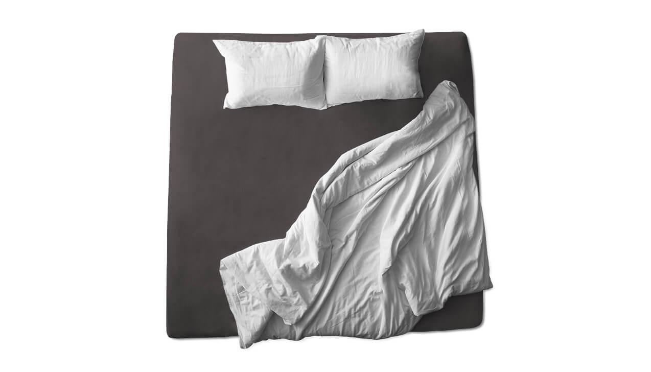 Schaflux Jersey Spannbettlaken allFit für Matratze in Schiefer