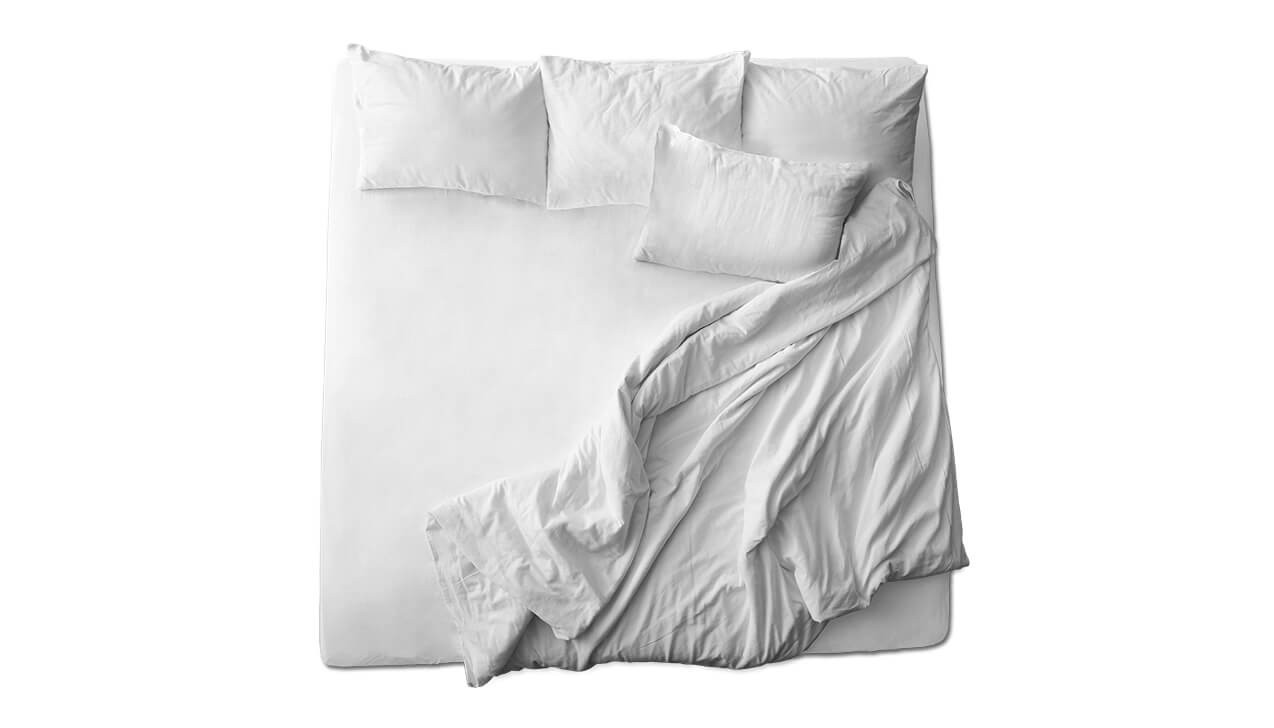 Schaflux Jersey Spannbettlaken allFit für Matratze in Weiß